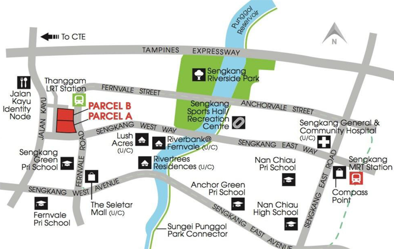 High Park Residences Location Map Sengkang New Launch Balance Units