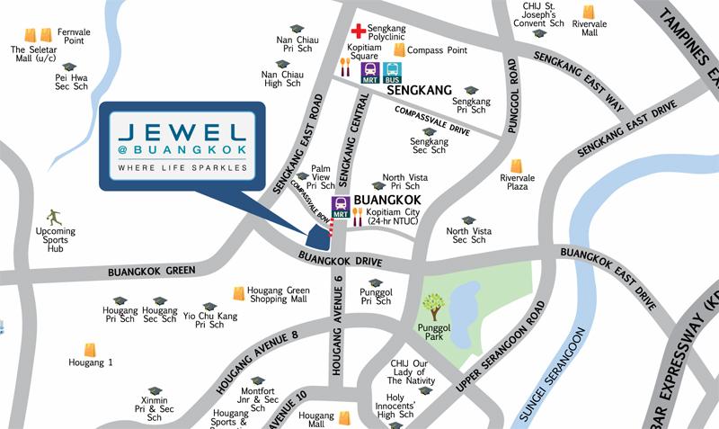 Sengkang Jewel Buangkok Location Sengkang New Launch Balance Units