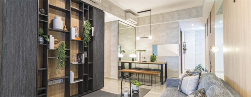 Showflat Photo of Living & Dining Area Sengkang New Launch Units