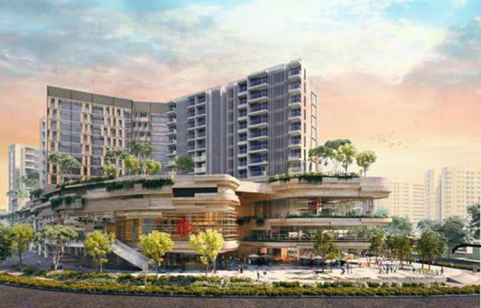 最新公寓 Sengkang Grand Residences Mix Development
