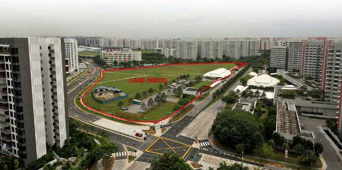 High End Condo Singapore 最新公寓 盛港嘉园 Sengkang Central Actual site Location New Launch Condo Sales