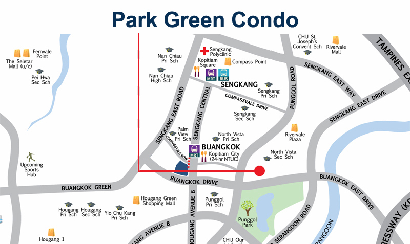 Park Green Resale Balance Units Location Map