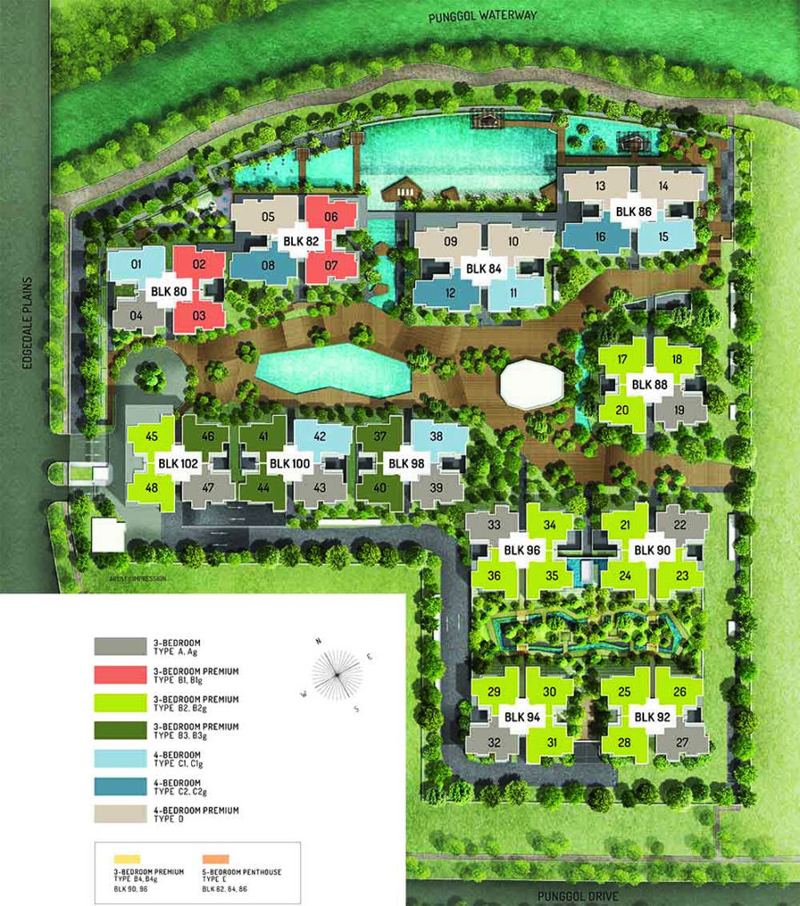 The Terrace Resale Balance Units Site Plan